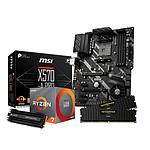 AMD Ryzen 7 3800X - MSI X570 - RAM 32Go 3600Mhz - SSD 500Go