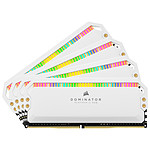 Corsair Dominator Platinum RGB White - 4 x 16 Go (64 Go) - DDR4 3200 MHz - CL16