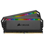Corsair Dominator Platinum RGB Black - 2 x 16 Go (32 Go) - DDR4 3600 MHz - CL18