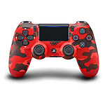 Sony PS4 DualShock 4 v2 - Camouflage Rouge