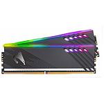 Gigabyte Aorus RGB Noire - 2 x 8 Go (16 Go) - DDR4 3200 MHz - CL16