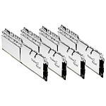 G.Skill Trident Z Royal Silver RGB - 4 x 8 Go (32 Go) - DDR4 4000 MHz - CL17