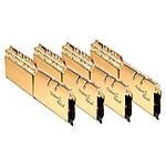 G.Skill Trident Z Royal Gold RGB - 4 x 8 Go (32 Go) - DDR4 4000 MHz - CL17