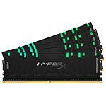 HyperX Predator RGB - 4 x 32 Go (128 Go) - DDR4 3000 MHz - CL16