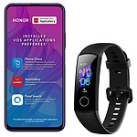 Honor 9X Pro (violet) - 256 Go - 6 Go + Honor Band 5