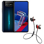 Asus Zenfone 7 Noir + Bose SoundSport Wireless Pulse Rouge