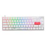 Ducky Channel One 2 SF RGB - Blanc - Cherry MX Speed