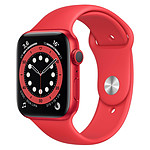 Apple Watch Series 6 Aluminium PRODUCT(RED) (Rouge - Bracelet Sport Rouge) - GPS - 44 mm