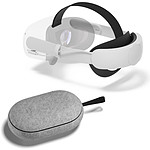 Oculus Quest 2 Sangle Elite avec batterie + Travel Case