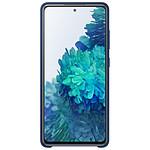 Samsung Coque Silicone Bleu Galaxy S20 FE