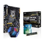 Intel Core i9 9900K + Asus TUF Z390 + SSD Intel 660P 1 To