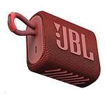 JBL GO 3 Rouge - Enceinte portable