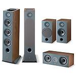 Focal Pack d'enceintes Chora 826 D HCM 5.0.2 Dolby Atmos - Dark Wood