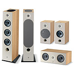 Focal Pack d'enceintes Chora 826 D HCM 5.0.2 Dolby Atmos - Light Wood