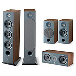Focal Pack d'enceintes Chora 826 HCM 5.0 - Dark Wood