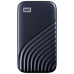 Western Digital (WD) My Passport SSD - 500 Go (Bleu nuit)