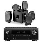 Denon AVR-X2700H Noir + Focal Sib Evo 5.1.2 Dolby Atmos Noir