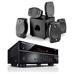 Yamaha RX-V685 Noir + Focal Sib Evo 5.1.2 Dolby Atmos Noir