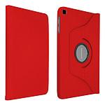"Akashi Etui Folio Rouge pour Galaxy Tab A7 10.4"""