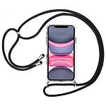 Akashi Coque TPU Angles Renforcés avec lanière  - Apple iPhone 11