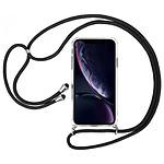 Akashi Coque TPU Angles Renforcés avec lanière  - Apple iPhone XR