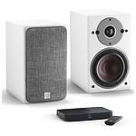 Dali Oberon 1 C (la paire) - Blanc + Sound Hub Compact