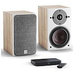 Dali Oberon 1 C (la paire) - Chêne clair + Sound Hub Compact