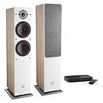 Dali Oberon 7 C (la paire) - Chêne clair + Sound Hub Compact