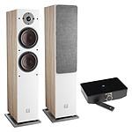 Dali Oberon 7 C (la paire) - Chêne clair + Sound Hub + Module de streaming BluOS NPM-1