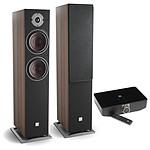 Dali Oberon 7 C (la paire) - Noyer foncé + Sound Hub + Module de streaming BluOS NPM-1