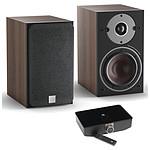 Dali Oberon 1 C (la paire) - Noyer foncé + Sound Hub + Module de streaming BluOS NPM-1