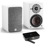 Dali Oberon 1 C (la paire) - Blanc + Sound Hub + Module de streaming BluOS NPM-1
