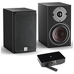 Dali Oberon 1 C (la paire) - Noir + Sound Hub + Module de streaming BluOS NPM-1