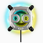 Corsair Hydro X Series XC9 - Waterblock CPU RGB - Argent