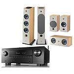 Denon AVC-X3700H Noir + Focal Pack d'enceintes Chora 826 D HCM 5.0.2 Dolby Atmos Light Wood