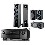 Denon AVC-X3700H Noir + Focal Pack d'enceintes Chora 826 D HCM 5.0.2 Dolby Atmos  Noir