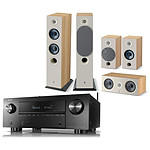 Denon AVC-X3700H Noir + Focal Pack d'enceintes Chora 816 HCM 5.0 Light Wood