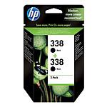 HP 338 Pack de 2 Noir (CB331EE)