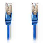 NEDIS Câble RJ45 catégorie 5e SF/UTP 7.5 m (Bleu)