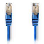 NEDIS Câble RJ45 catégorie 5e SF/UTP 0.5 m (Bleu)