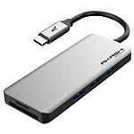 Akashi Hub USB Type-C 7-en-1