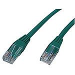 Cable RJ45 Cat 5e U/UTP (Vert) - 0,15 m