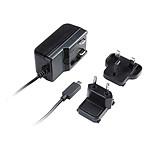 Akasa Chargeur USB-C 15W avec 2 adaptateurs de prise (EU & GB)