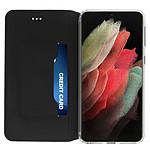 Akashi Etui Folio (noir) - Samsung Galaxy S21 Ultra