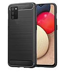 Akashi Coque TPU Renforcée (noir) - Samsung Galaxy A02s