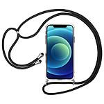 Akashi Coque TPU Angles Renforcés avec lanière  - Apple iPhone 12 / 12 Pro