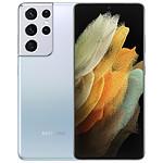 Samsung Galaxy S21 Ultra 5G (Silver) - 512 Go - 16 Go