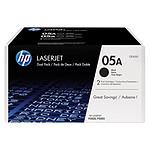 HP 05A Noir Pack de 2 CE505D