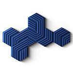 Elgato Wave Panels Starter Kit - Bleu