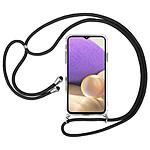 Akashi Coque TPU Angles Renforcés avec lanière  - Samsung Galaxy A32 5G
